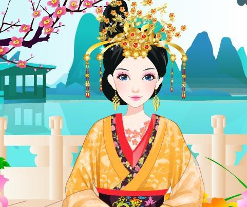 古代美女公主小游戏