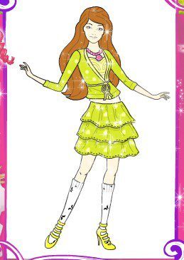 设计芭比服装小游戏_设计芭比服装小游戏评论