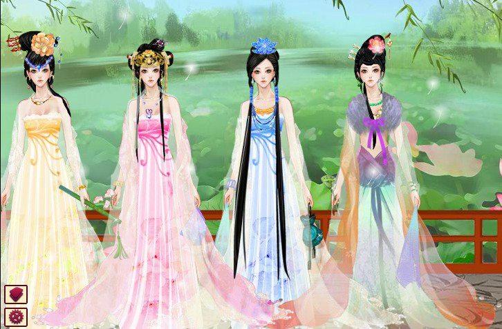 换装 古装美女 公主装扮秀3  (共有 5345人评论)         kkacct