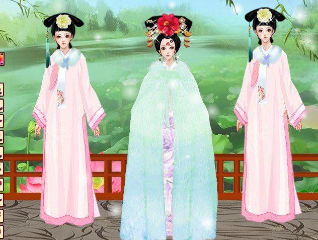 换装 古装美女 公主装扮秀3  (共有 5723人评论)         kkacct