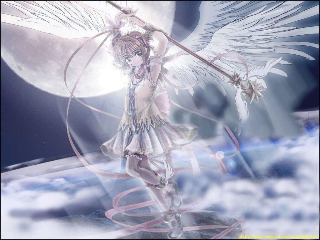 那些长着翅膀的动漫人物,你想到了谁?
