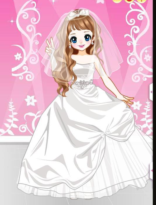 新娘婚纱换装小游戏_漂亮小新娘HD 最热门的女生新娘婚纱打扮换装游戏